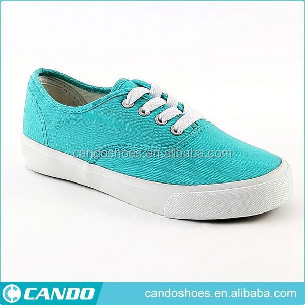 Cheap Vulcanized Women Flat Shoe Fashion Design Teen Shoe