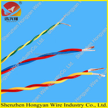 electrical wire flat cable bs 6242y twin & earth cable solid flat cable 6242Y twin & earth cable 300/500V BS6004 standard cable