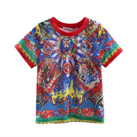 New Arrivals Summer Boys Tshirt With Fashion Printed Kids Tshirt Children Clothes BT90315-10L