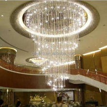 Home decorative crystal chandelier light , indoor pendant lamp