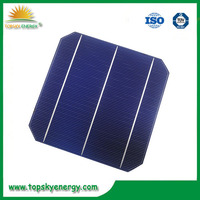 Sample order available 5w 4BB solar cells 156x156 monocrystalline cells with low price