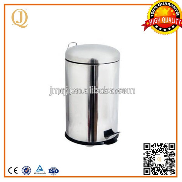 wastes recycling stainless steel industrial metal waste bins industrial steel waste bin with dome lid