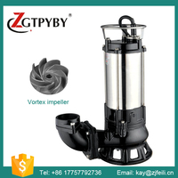 dirty water drain pump waste water discharge pump with vortex impeller