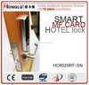 HONGLG HK8029 slip cover trustable hotel door lock