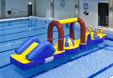 inflatable big wheel slide and obstacle course,inflatable big wheel aqua run,inflatable water game