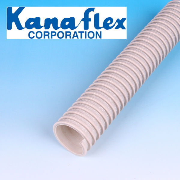 Flexible PVC Kanaflex New Kanaduct duct hose with reinforced cord. Made in Japan (flexible pvc duct hose)