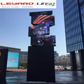 outdoor creative P6 new technology rotating led video display