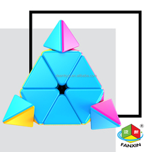 6pieces/parcel!!Candy Color! Pyramid cube(9.8CM) for gift and collection OEM SUPPORTED!