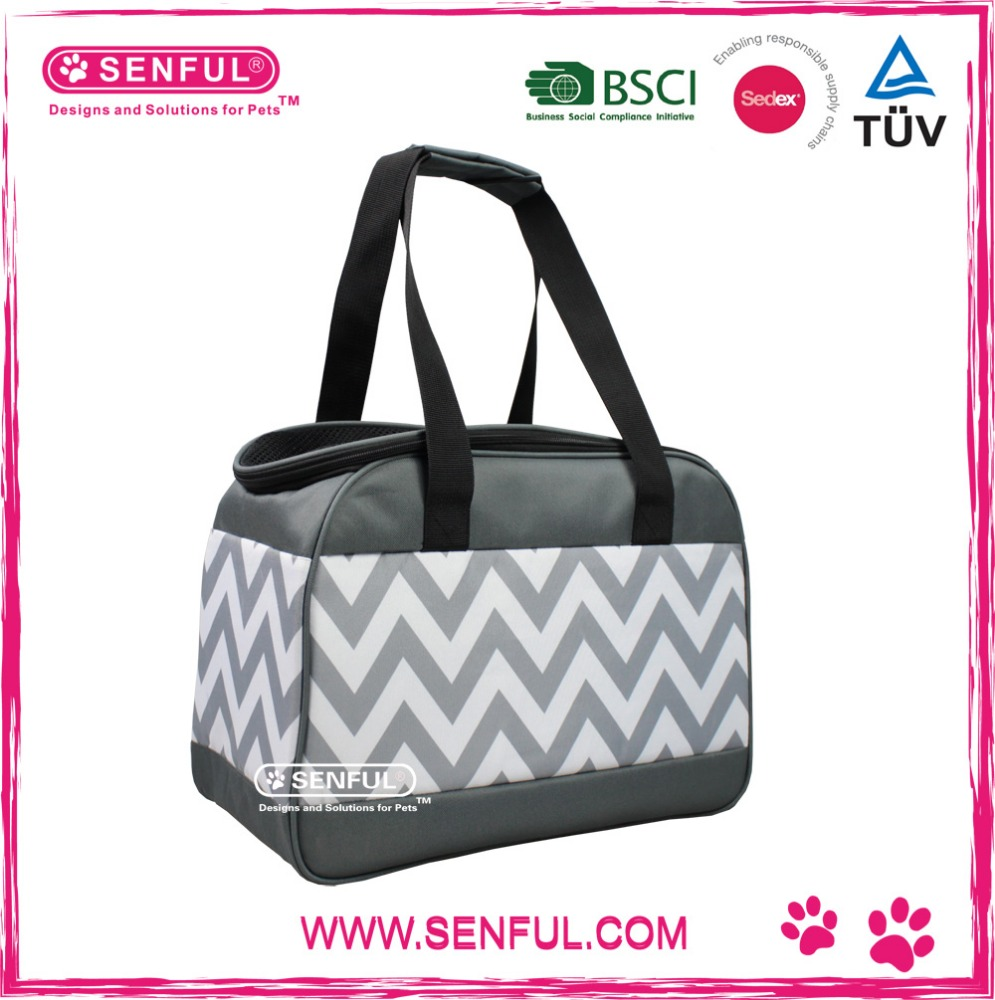 Classic Printing Pet Carrier 2016 New Dog handbag