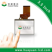3.5 inch tft lcd panel 320*240 with Capacitive or Resistative tft lcd panel touch module