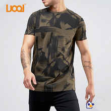 Forest Hide Army Pocket Printed Wholesale cotton digital Camo T-Shirt