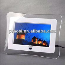 7'' digital photo frame with video loop Rohs Perfect for Your Home or as Advertising Signage