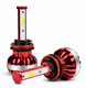 Hot Sale Led Car Headlight Automatic H4 H7 H11 H1 Dual Color Led Headlight