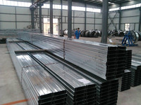 Pregalvanized light weight Steel C Purlin for buliding usage
