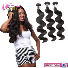 XBL Fast Shipping Long Lasting 8A Grade Chemical Free brazilia hair
