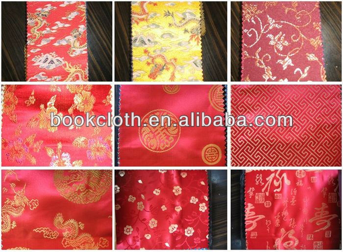 silk brocade fabric for boxes