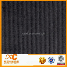 100% cotton plain dyed corduroy fabric for ikat curtain