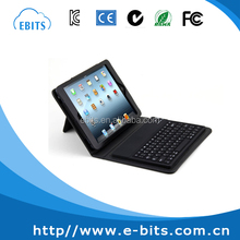 High end PU leather case CE/FCC/ROHS/ISO bluetooth keyboard for ipad mini