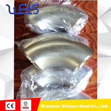 90 degree sus 304 stainless steel elbow stainless steel STAINLESS STEEL BOTH PIPE welded forged elbow TP316 PIPE FITTING