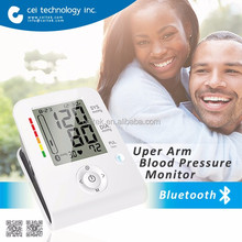 Hot sell BT Upper Arm Digital Blood Pressure Monitor with bluetooth