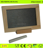 New wooden blackboard chalkboard with stand good quality wooden blackboard