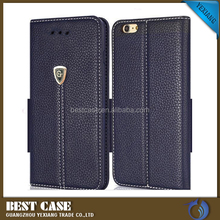yexiang leather flip case for huawei ascend p6 wallet phone case