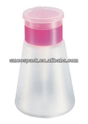 180ml new design luxury nail remover bottle used for Beauty salon