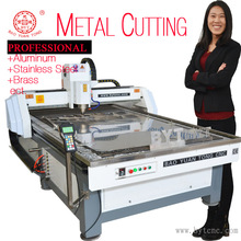BYT-48 6090 1325 2030 customize Metal cutting CNC router for Stainless steel Brass Aluminum