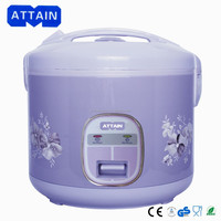 Purple deluxe oval rice cooker