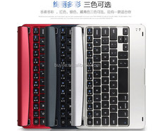 For iPad mini 2/3 aluminium alloy bluetooth keyboard,ultra thin wireless Tablet PC keyboard