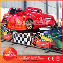 Popular fun kids carnival rides spinning flying car electric entertainment for mall