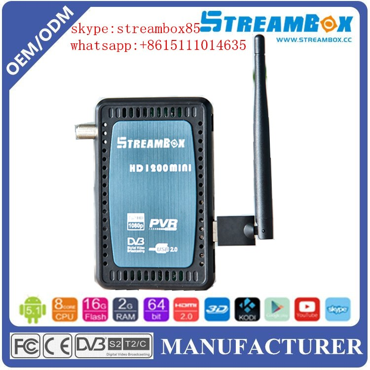 wholesale sunplus 1506g Mini hd dvb s2 Support IPTV YouTube h.265 sks iptv CCCAM, NEWCAM,MGCAM set top box