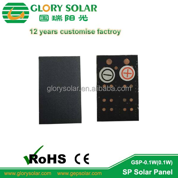 Smallest Size Customized 0.1W 5V Solar Panels From China Factory For Various kind of Products