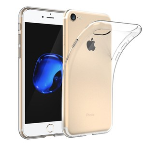 Hot Sale Soft TPU Clear Back Cover Transparent Silicone Phone Case for Iphone7 Case