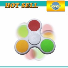 Good selling Metal Stainless steel light up spinning glow toys flying spinner toy