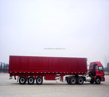 60t three axles dump and tipper semi trailer for utility use