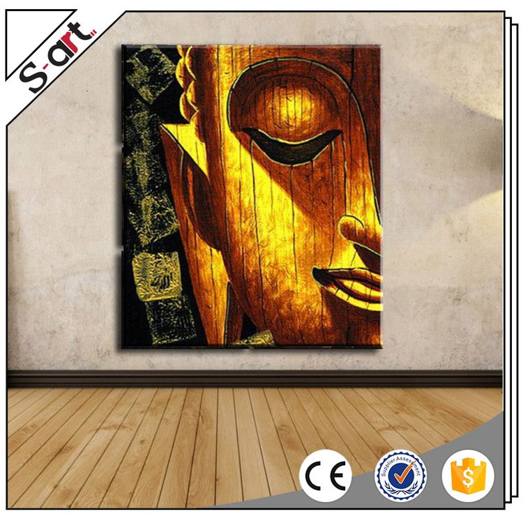 New style original design latest buddha oil painting