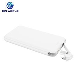 Portable Charger 2018 10000mAh Power Bank Dual USB Port 2A External Battery High-Speed Charge