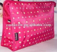 Small Polyester cosmetic makeup bag for girls
