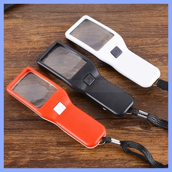 5X Handheld LED Magnifier Reading Magnifying Glass
