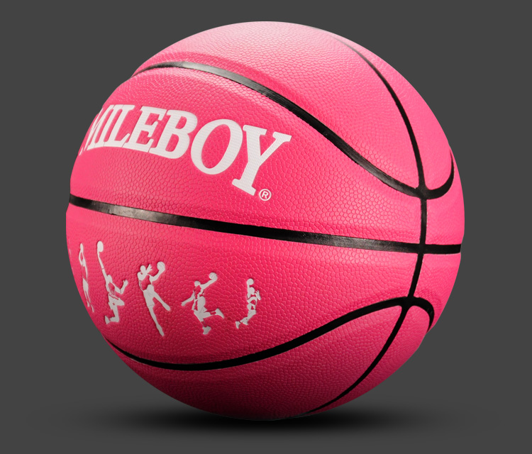 En gros personnalisé de basket-ball composite en cuir mens basketball taille 7