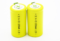 CE Approved High temperature nimh sc batterie /sc nicd batterie / ni-mh sc3600mah 3.6v battery packs