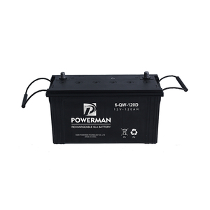 Sealead 12V 120Ah Mf Lead Acid Car Battery