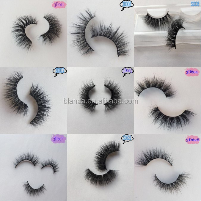 Create Your Own Brand Faux Mink Lashes Eyelash Extension False Eyelashes
