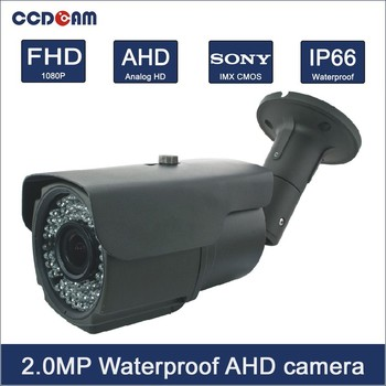 1080p AHD bullet weatherproof Camera 2Mp full hd cctv ahd camera