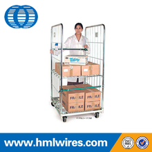 Storage metal laundry China industrial roll containers