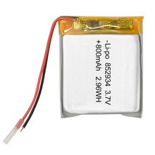 Hottest selling 852934 3.7V 800mAh Lithium Polymer Battery for Medical equipment, beauty equipment dedicated battery