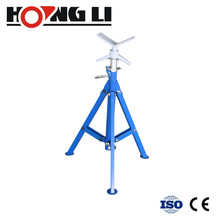 Pipe stand For Threading Machine And Roll Groover