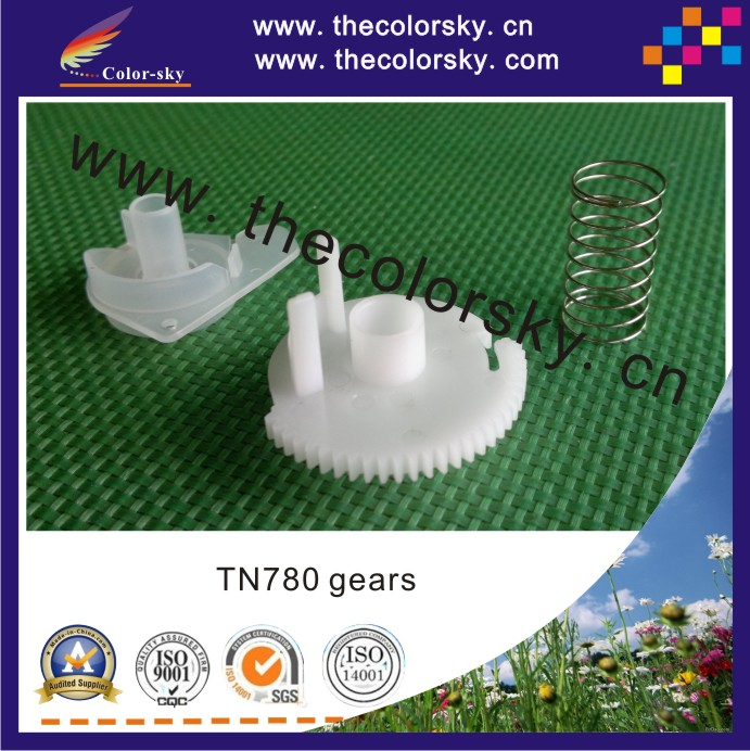 (ACC-TN780-3) nylon reset lever gear with spring for Brother TN-780 TN-3380 TN-3392 HL 6180DW MFC 8950DW Free FedEx