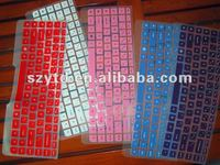 color dustproof waterproof silicone keyboard cover -Lenovo 57